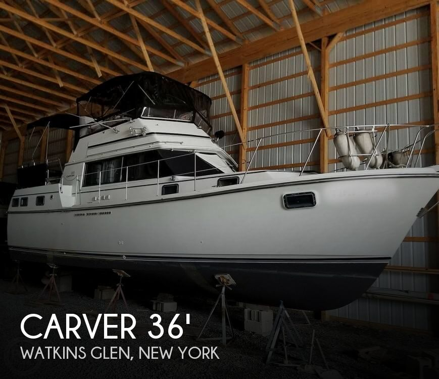 Used Carver Boats For Sale in New York by owner | 1982 Carver 36'