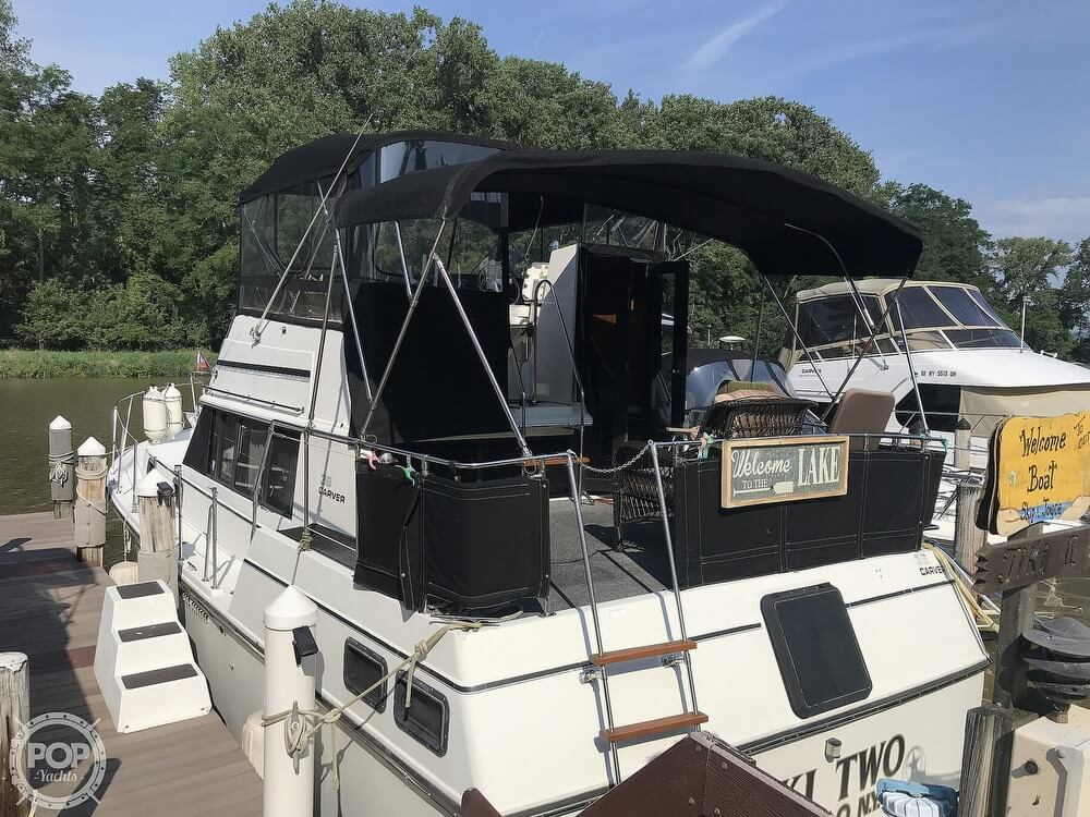 1982 Carver boat for sale, model of the boat is 3607 Aft Cabin & Image # 6 of 40