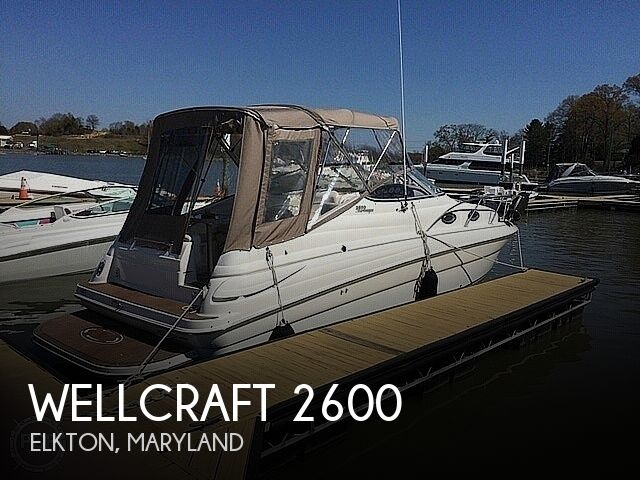 Used Wellcraft Boats For Sale in Maryland by owner | 2003 Wellcraft Martinique 2600