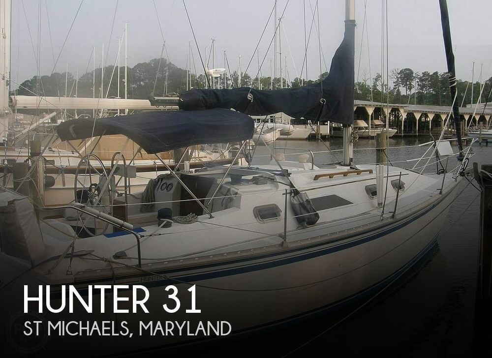 Used Hunter Sailboats For Sale in Maryland by owner | 1984 Hunter 31