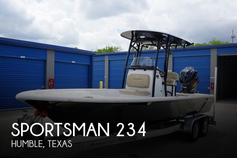 2018 Sportsman Boats boat for sale, model of the boat is 234 Tournament & Image # 1 of 40