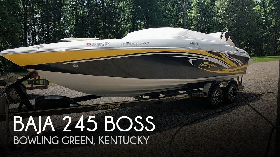 Used Boats For Sale in Nashville, Tennessee by owner | 2006 Baja 245 Boss