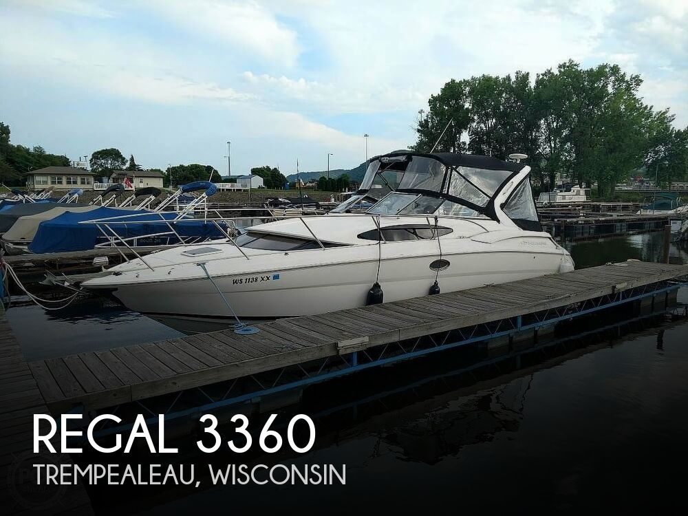 Used Boats For Sale in Minnesota by owner | 2005 Regal 3360 Window Express Cruiser