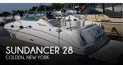 Used Boats For Sale in Buffalo, New York by owner | 2001 Sundancer 28