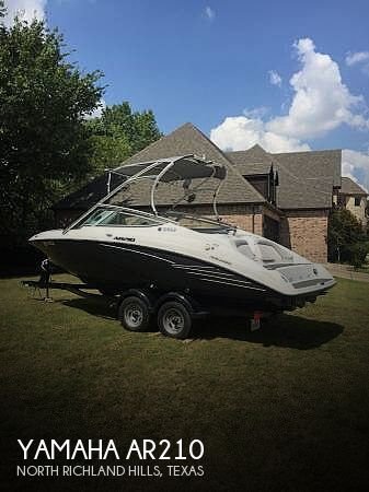 Used Yamaha Boats For Sale in Texas by owner | 2012 Yamaha 210