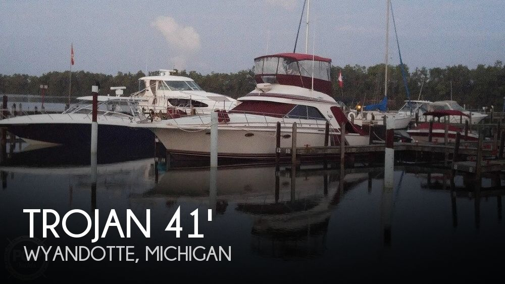 Used Fishing boats For Sale in Michigan by owner | 1986 Trojan 41