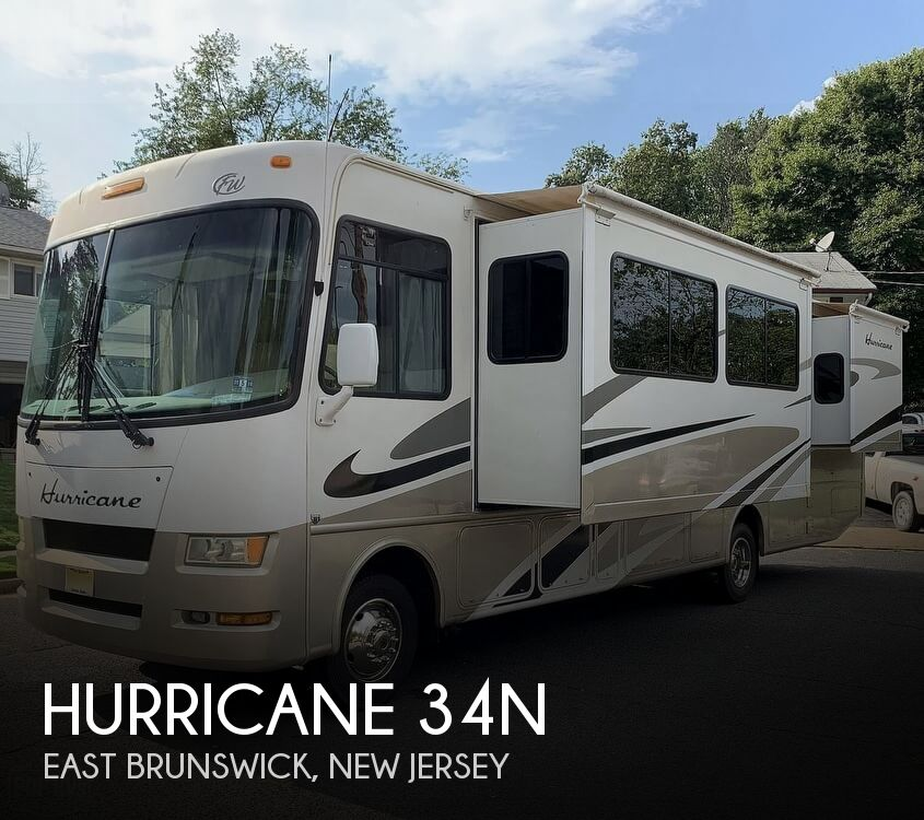 2007 Thor Motor Coach Hurricane 34N
