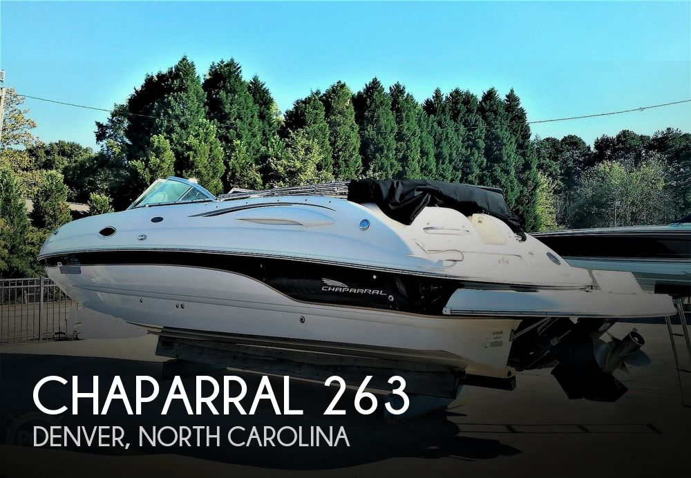 Used Chaparral Boats For Sale in North Carolina by owner | 2002 Chaparral 263 Sunesta