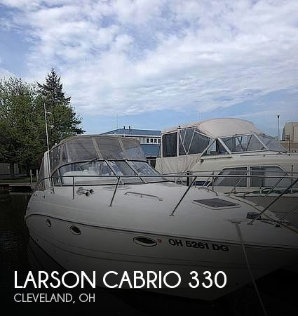 Used Boats For Sale in Canton, Ohio by owner | 2002 Larson Cabrio 330