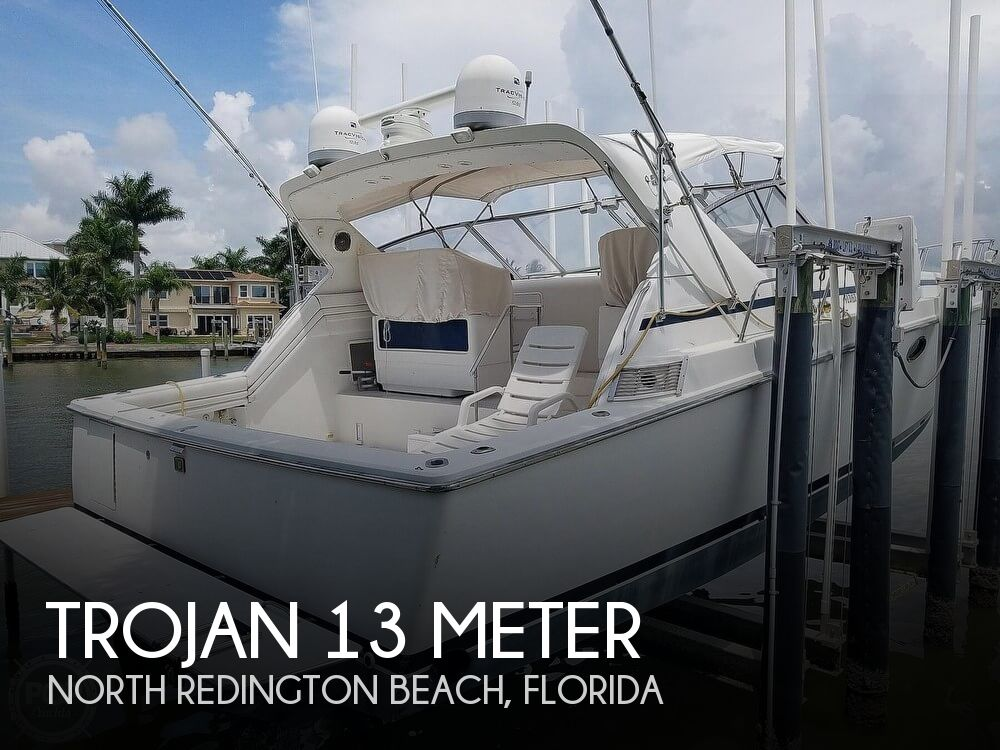 Used Trojan Boats For Sale by owner | 1988 Trojan 13 Meter