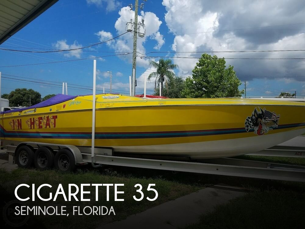 Used Cigarette Boats For Sale by owner | 1988 Cigarette 35 Cafe Racer