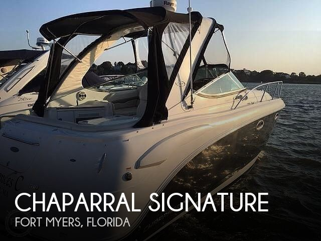 Used Chaparral Boats For Sale in Florida by owner | 2008 31 foot Chaparral Signature