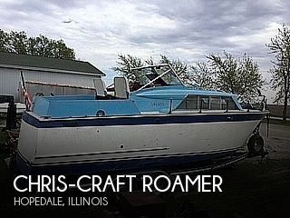 1963 Chris Craft boat for sale, model of the boat is Roamer & Image # 1 of 28