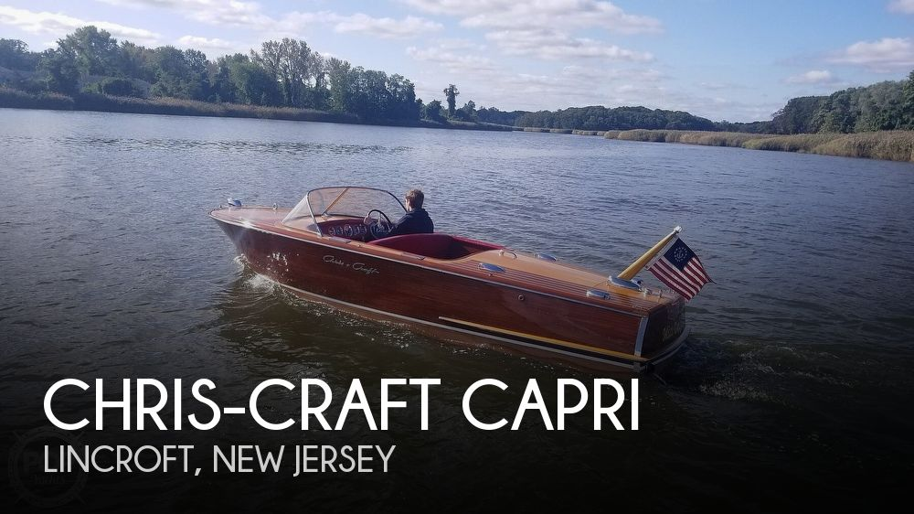 1958 Chris-Craft Capri
