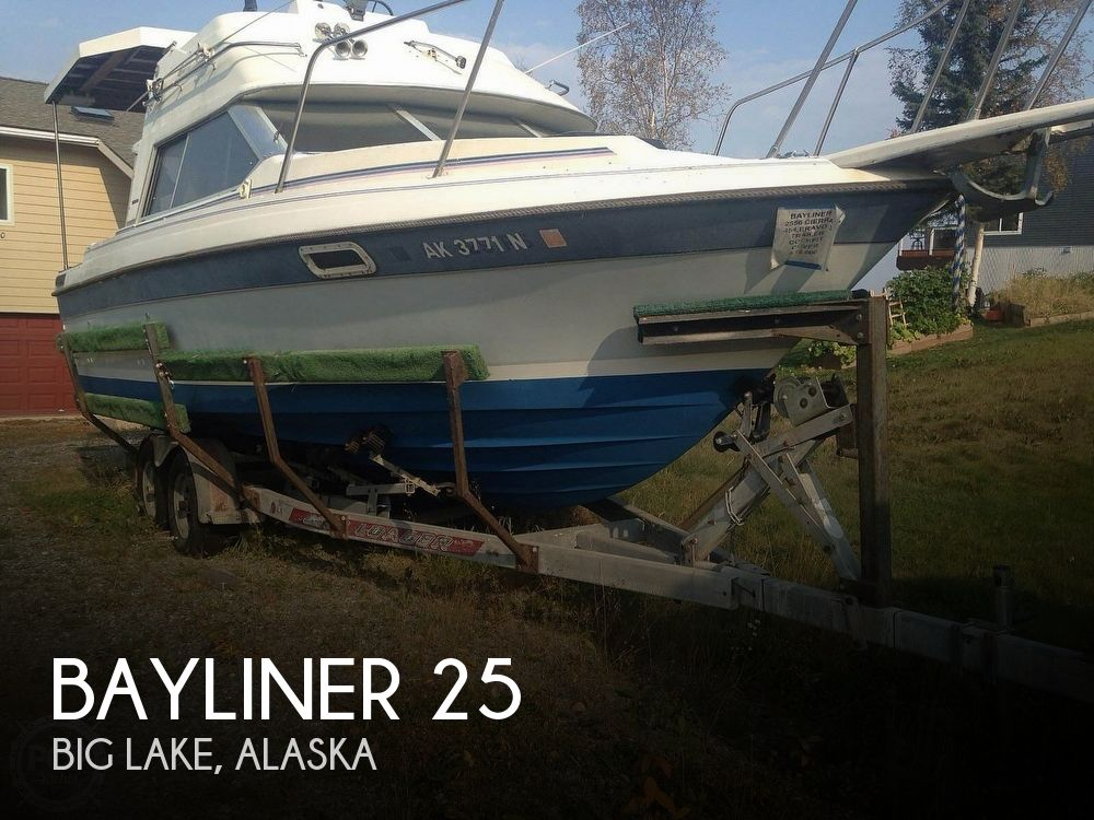 Used Boats For Sale in Anchorage, Alaska by owner | 1986 Bayliner 25