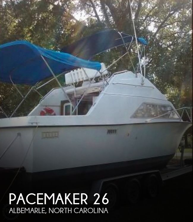Used Fishing boats For Sale in Greensboro, North Carolina by owner   1978 Pacemaker 26