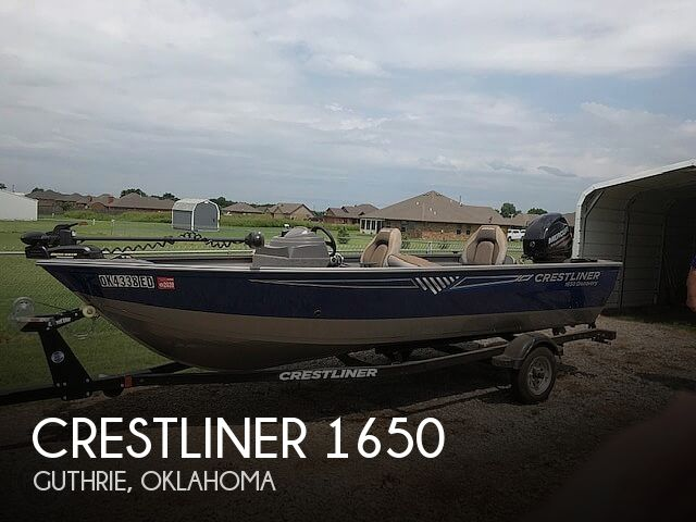 Used Power boats For Sale by owner | 2017 Crestliner 1650 Discovery