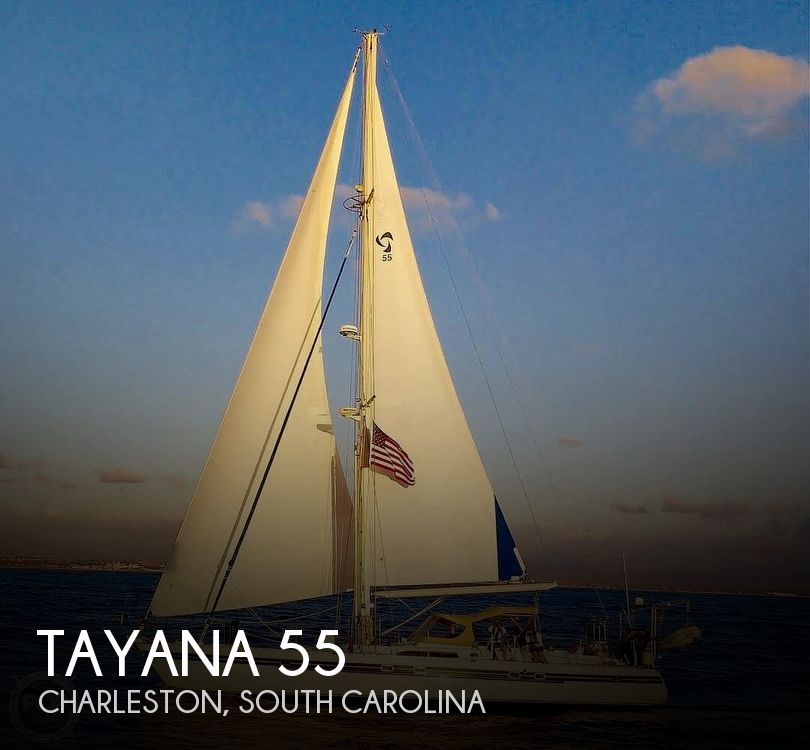 1991 Tayana boat for sale, model of the boat is 55 & Image # 1 of 40