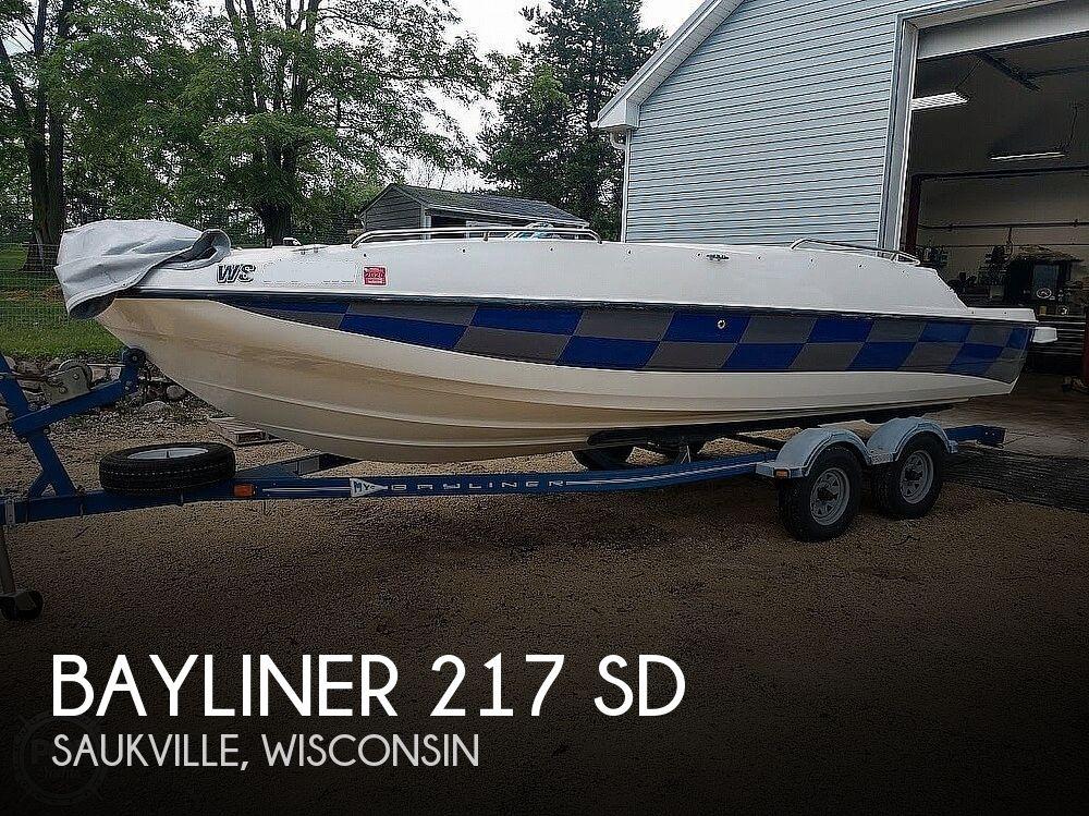 Used Bayliner 21 Boats For Sale by owner   2007 Bayliner 217 SD