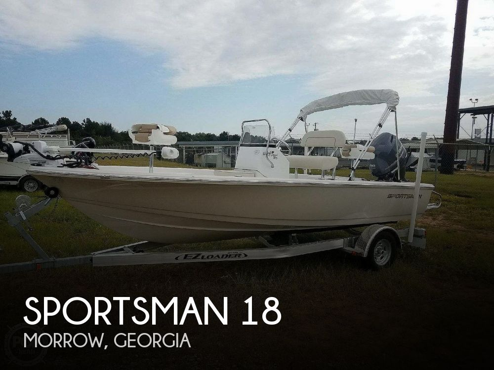 Used Boats For Sale in Macon, Georgia by owner | 2017 Sportsman 18