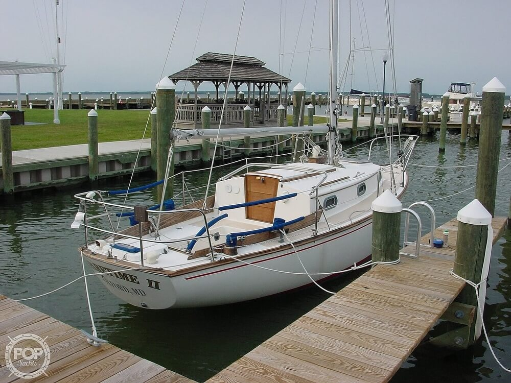 1980 Cape Dory boat for sale, model of the boat is 27 & Image # 2 of 40