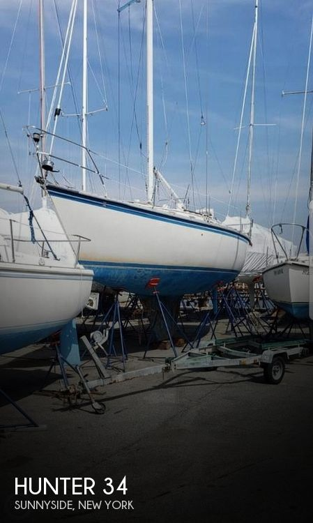 Used Hunter Sailboats For Sale in New York by owner | 1983 Hunter 34