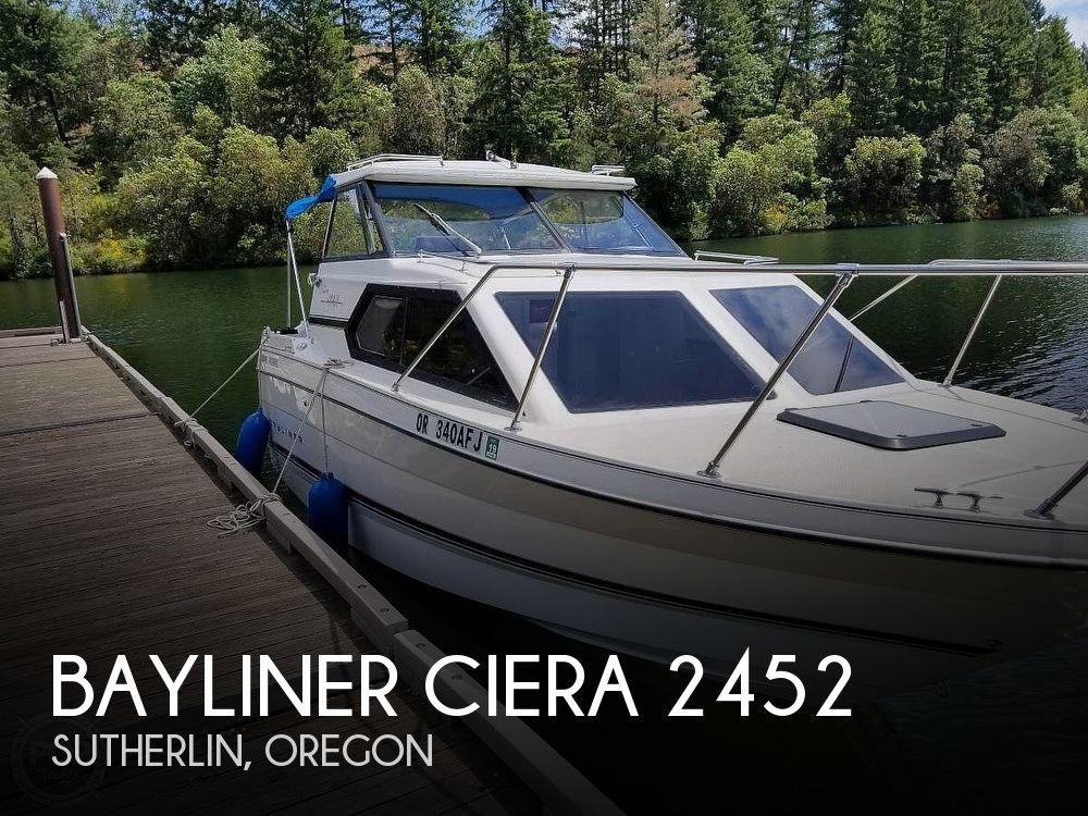 Used Bayliner Boats For Sale in Oregon by owner | 1996 Bayliner Ciera 2452