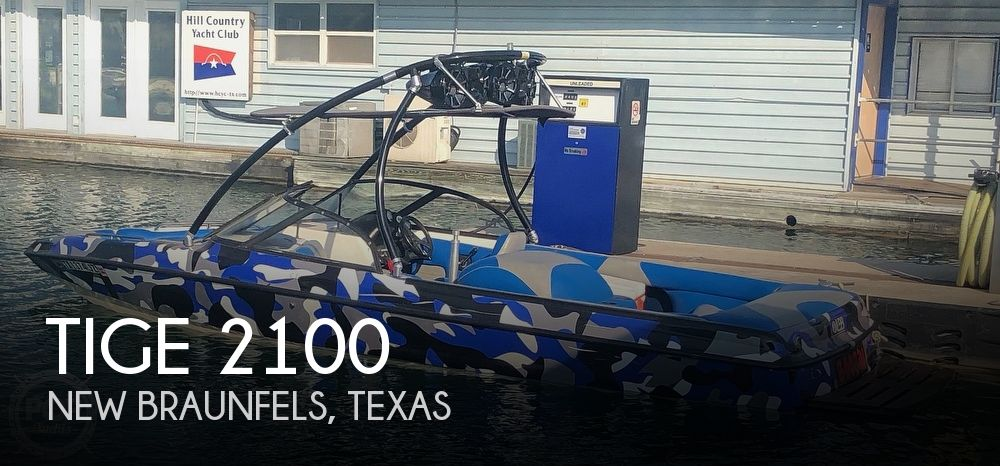 Used Tige Boats For Sale by owner | 1998 Tige 2100