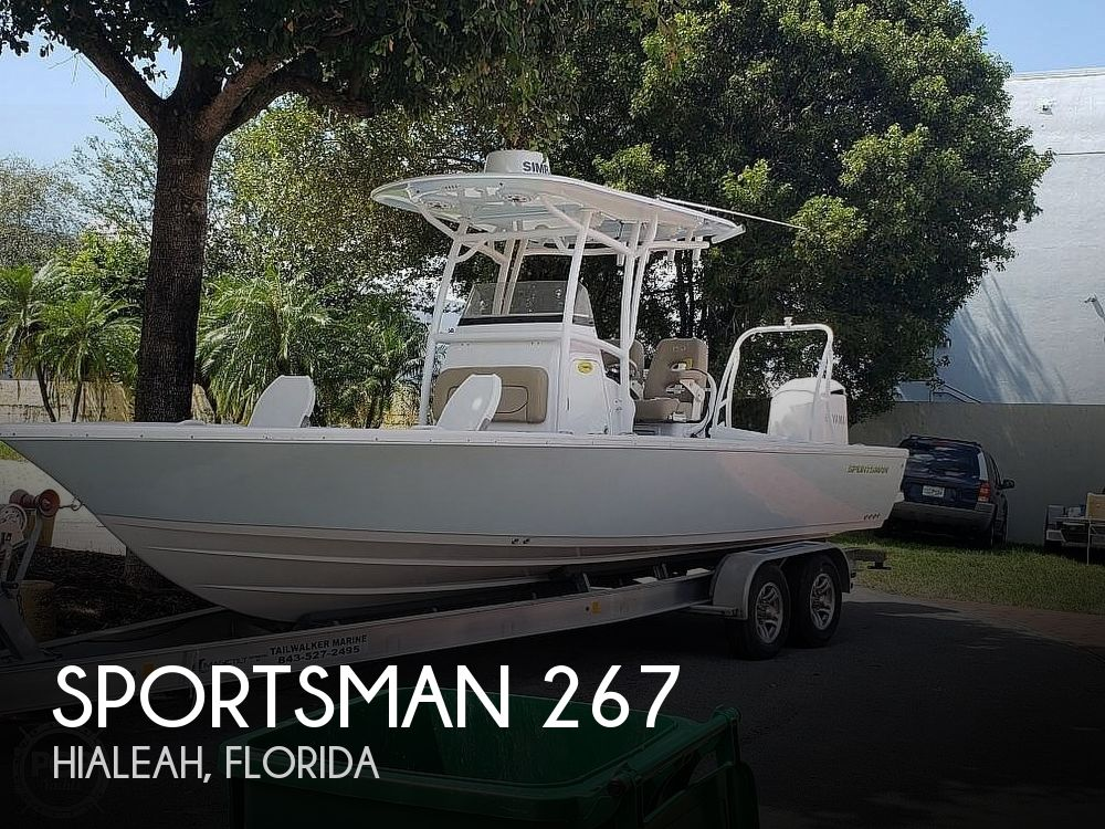 Used Sportsman Boats For Sale by owner | 2017 Sportsman 267 Bay Masters