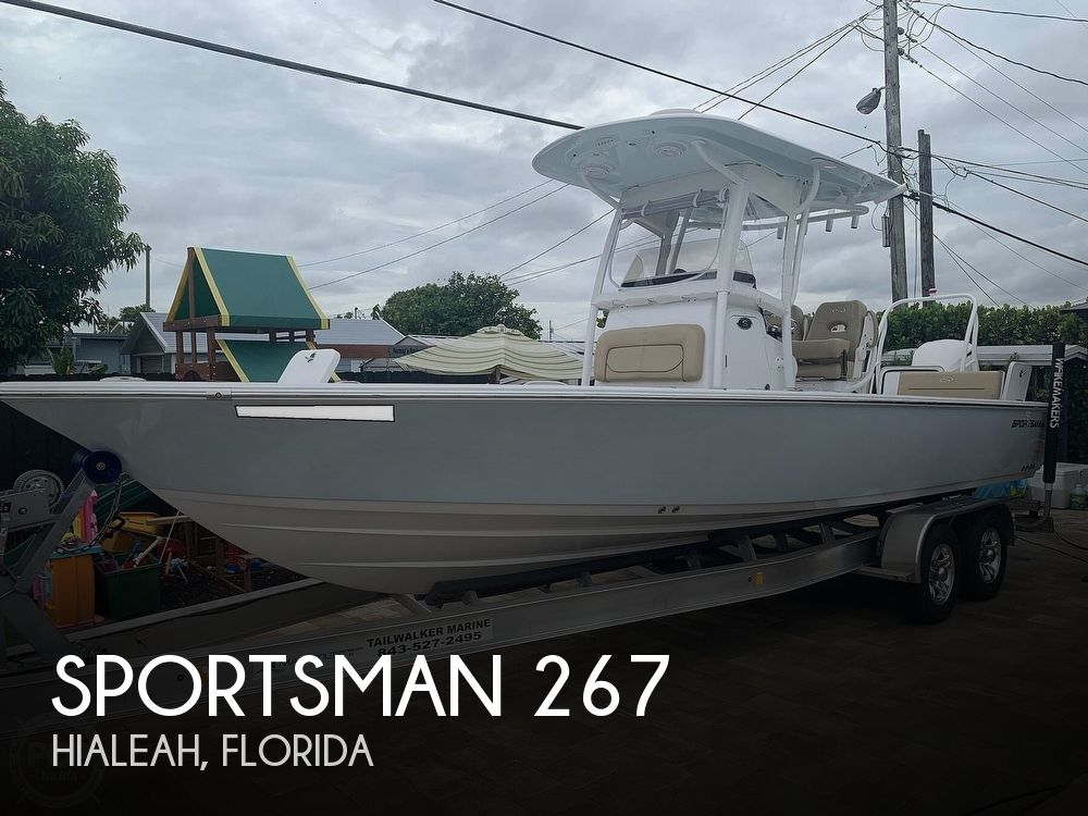 2017 SPORTSMAN BOATS 267 BAY MASTERS for sale