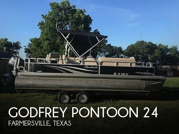 Used Pontoon Boats For Sale in Texas by owner | 2011 Godfrey Pontoon 24