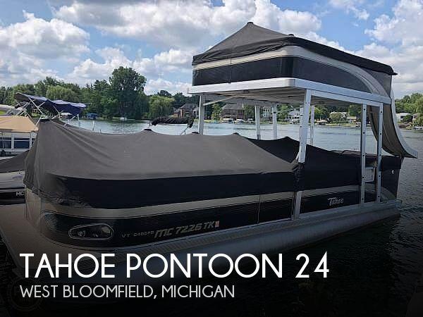 Used 2011 Tahoe Pontoons 24 For Sale