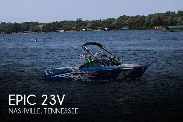 Used Boats For Sale in Nashville, Tennessee by owner | 2013 Epic 23V