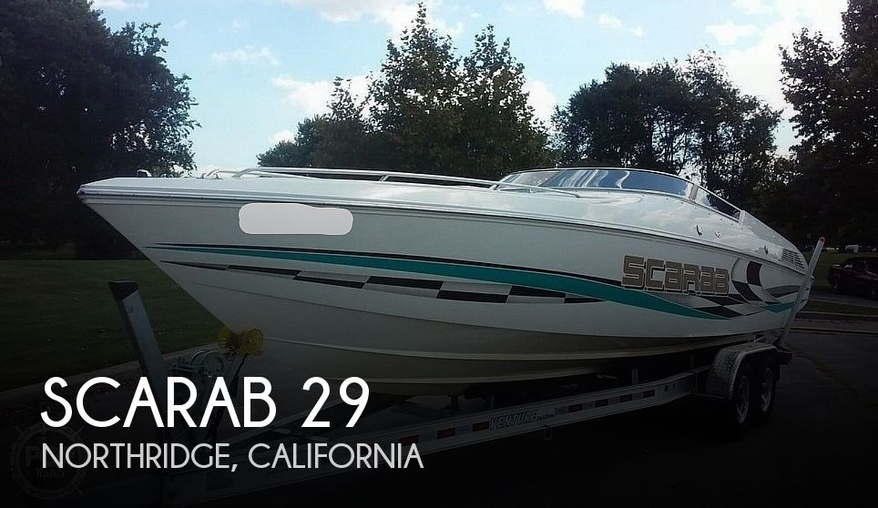 Used Scarab Boats For Sale by owner | 2001 Scarab 29