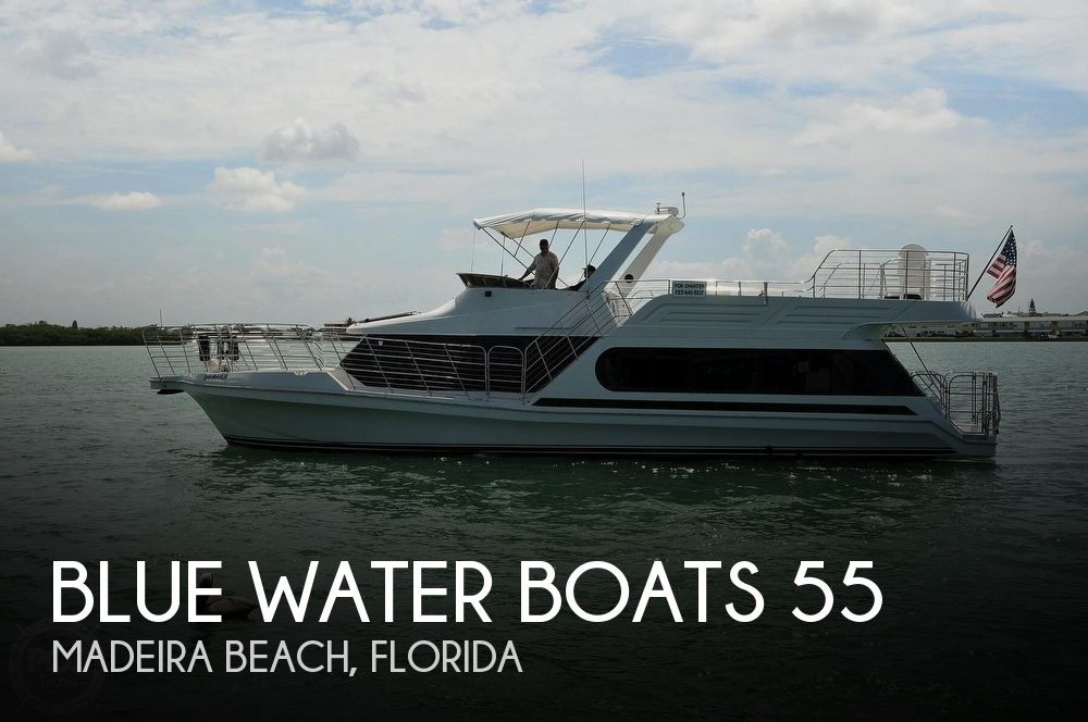 Used Boats For Sale in Lakeland, Florida by owner | 1992 Blue Water Boats 55