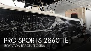 Used Pro Sports Boats For Sale by owner | 2003 Pro Sports 2860 TE