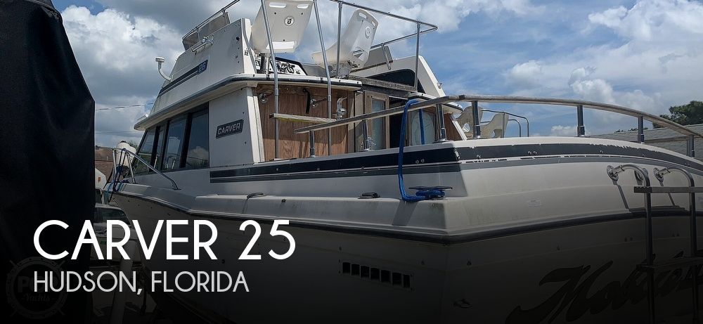 Used Carver 25 Boats For Sale by owner | 1986 Carver 25