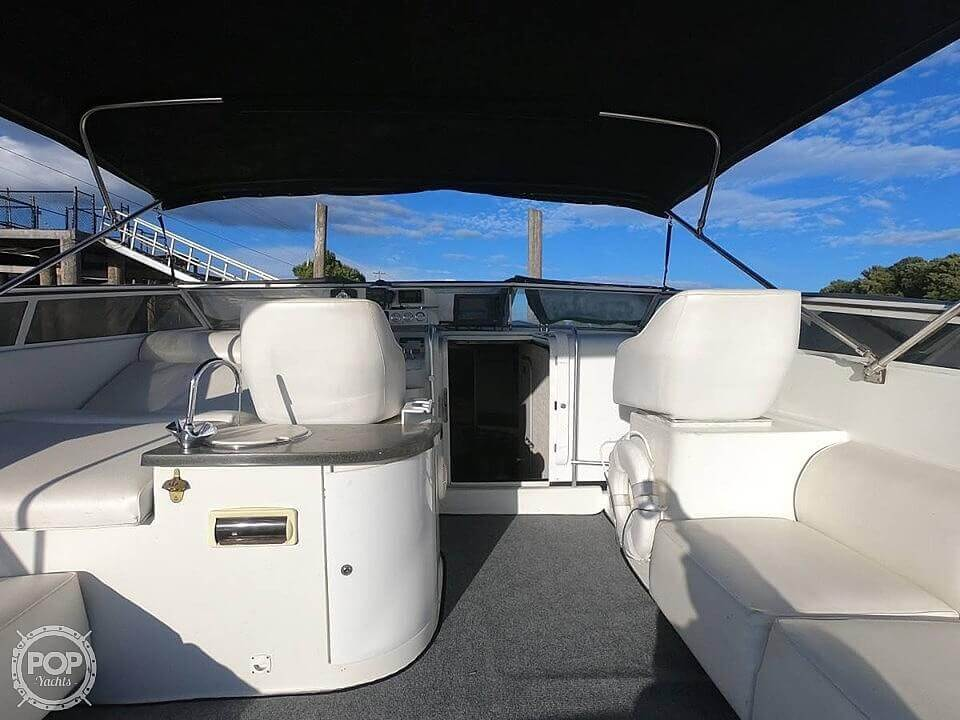 1990 Mainship boat for sale, model of the boat is 39 & Image # 3 of 40