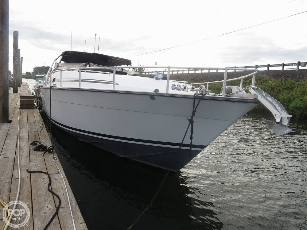 1990 Mainship boat for sale, model of the boat is 39 & Image # 6 of 40