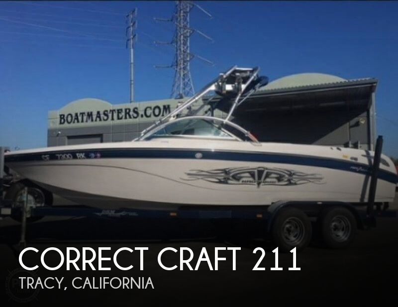 Used Boats For Sale in Santa Cruz, California by owner | 2006 Correct Craft 21
