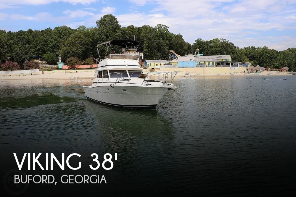 1984 Viking boat for sale, model of the boat is 35 Convertible & Image # 1 of 40