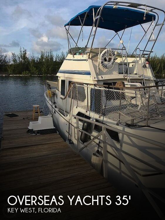 Used Trawlers For Sale by owner | 1985 Overseas Yachts Trawler 35' Sundeck