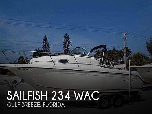 Used Sailfish Boats For Sale by owner | 2003 Sailfish 234 WAC