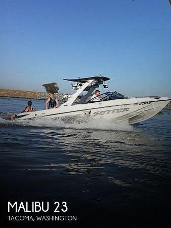 Used MALIBU Boats For Sale in Washington by owner | 2008 Malibu 23