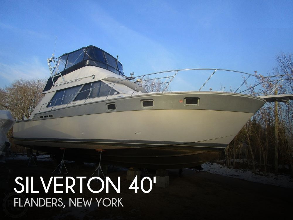 Used Silverton Boats For Sale in New York by owner | 1987 Silverton 40 Convertible
