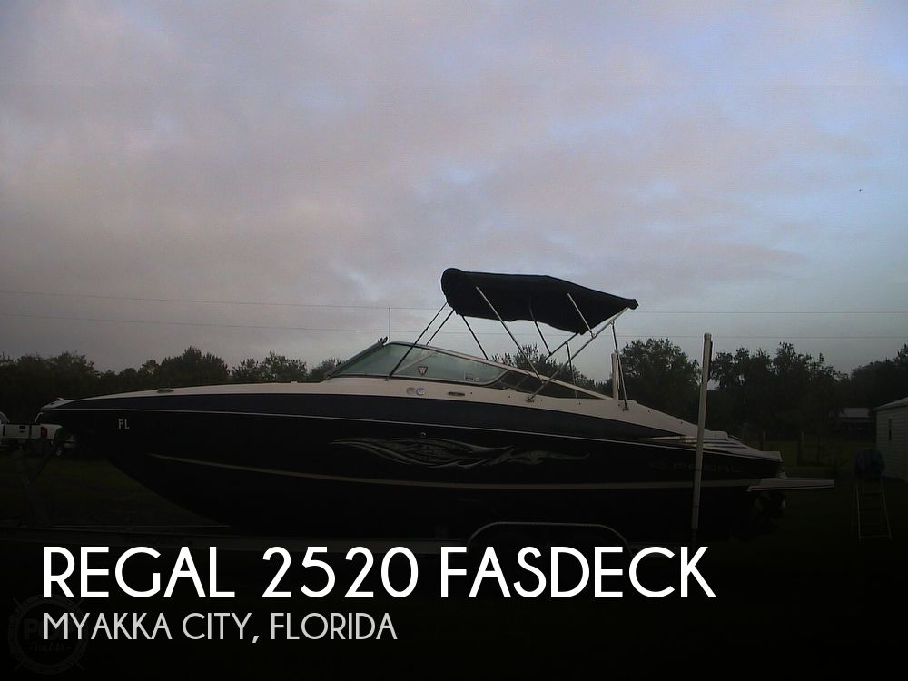 Used Regal 2520 FasDeck Boats For Sale by owner | 2009 Regal 2520 FasDeck