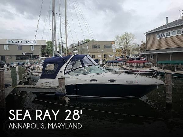 Used Sea Ray Boats For Sale in Maryland by owner | 2005 Sea Ray 260 Sundancer