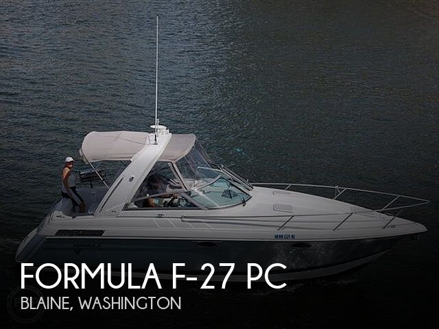 Used Formula Boats For Sale in Washington by owner   2005 Formula 27 PC