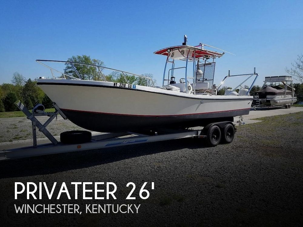 Used Boats For Sale in Lexington, Kentucky by owner | 1986 Privateer 2400 Renegade