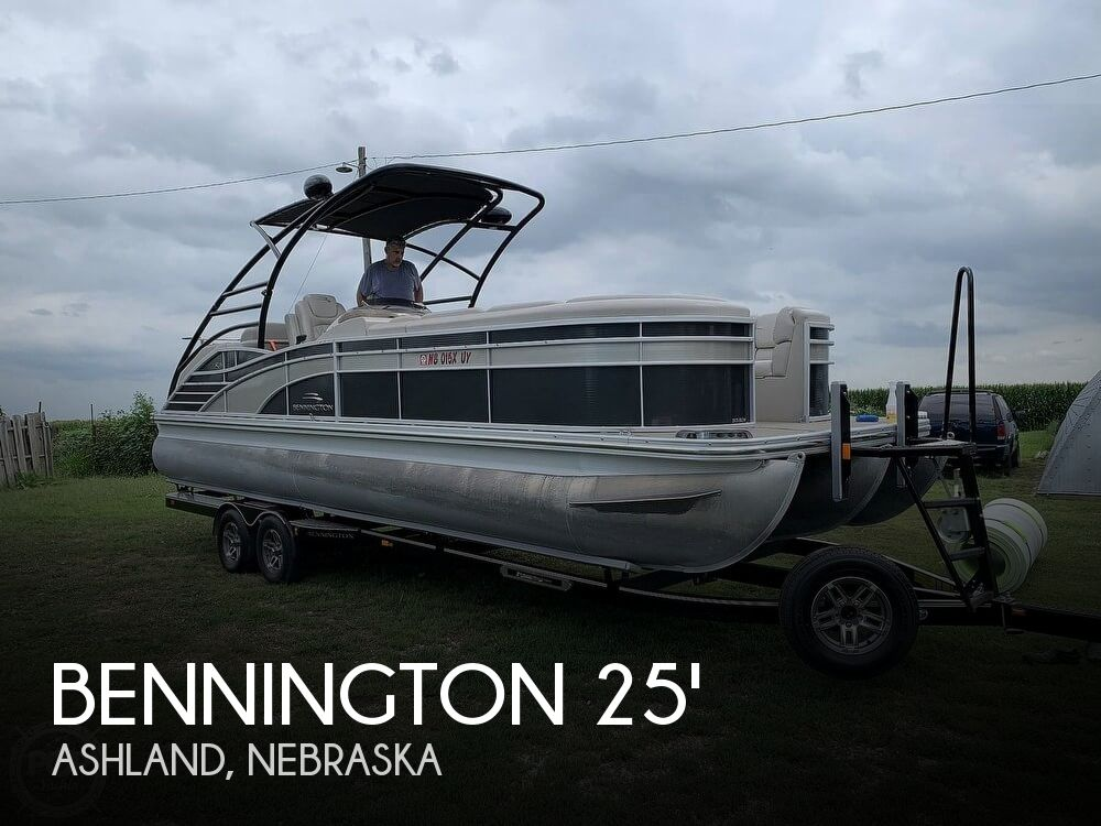Used Boats For Sale in Omaha, Nebraska by owner | 2013 Bennington 2575RCW